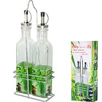 Набор бутылок для растительного масла 250мл Зеленый бамбук ST 702