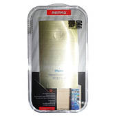 Защитная пленка Remax для Apple iPhone 5/5S/5C (front + back) New Metal Sticker Golden