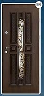 Входные двери с ковкой Економ 803