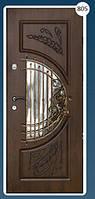 Входные двери с ковкой Економ 805