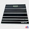 Весы напольные электронные мод. 5848-1 (стекло, квадрат, полосы, до 180 кг.)