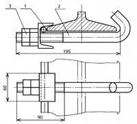 Клемма заземления - КС-124