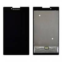 Дисплей (экран) для планшета Lenovo A7-30 Tab 2 /A7-30HC/A7-30DC/A7-30F + с сенсором (тачскрином) черный