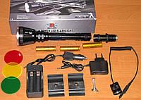 Подствольный фонарь Police BL-Q3888-L2 158000W Очень яркий!