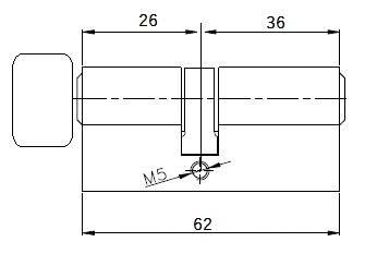 Циліндр з поворотником з меншої сторони, фото 2