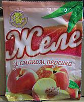 Желе со вкусом персика 85г Поваренок 910780
