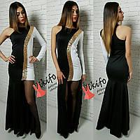 Стильное вечернее женское платье л-20032496