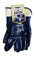 Перчатки трикотажные Doloni с нитриловым покрытием (Арт. 851) размер 10 Класс защиты 1 - 1 пара.