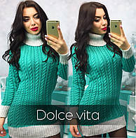 Женское вязаное платье о-032506