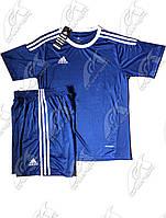 Футбольная форма игровая Adidas (Адидас синяя)