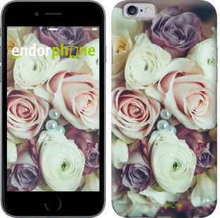"""Чехол на iPhone 6 Букет роз """"2692c-45"""""""