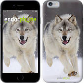 "Чехол на iPhone 6s Бегущий волк ""826c-90"""