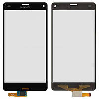 Сенсор (тачскрин) для Sony D5803 Xperia Z3 Compact Mini, D5833 Xperia Z3 Compact Mini черный