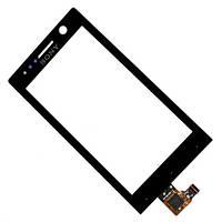 Сенсор (тачскрин) Sony ST25i Xperia U, Black