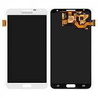 Дисплей оригинальный для Samsung N7502 Note 3 Neo Duos + с сенсором (тачскрином) White