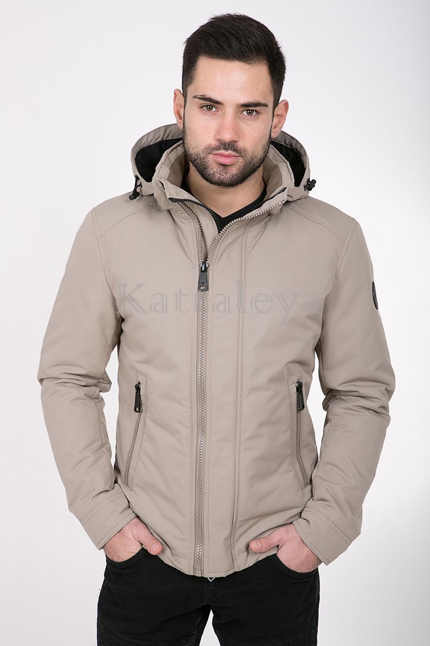 5d75b258 Мужская демисезонная куртка VIVACANA 67SS089 бежевая M / 48 размер -  KATTALEYA в Харькове