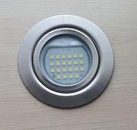 Светильник мебельный врезной светодиодный 220V