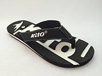 Мужские шлепанцы - вьетнамки -сланцы  KITO