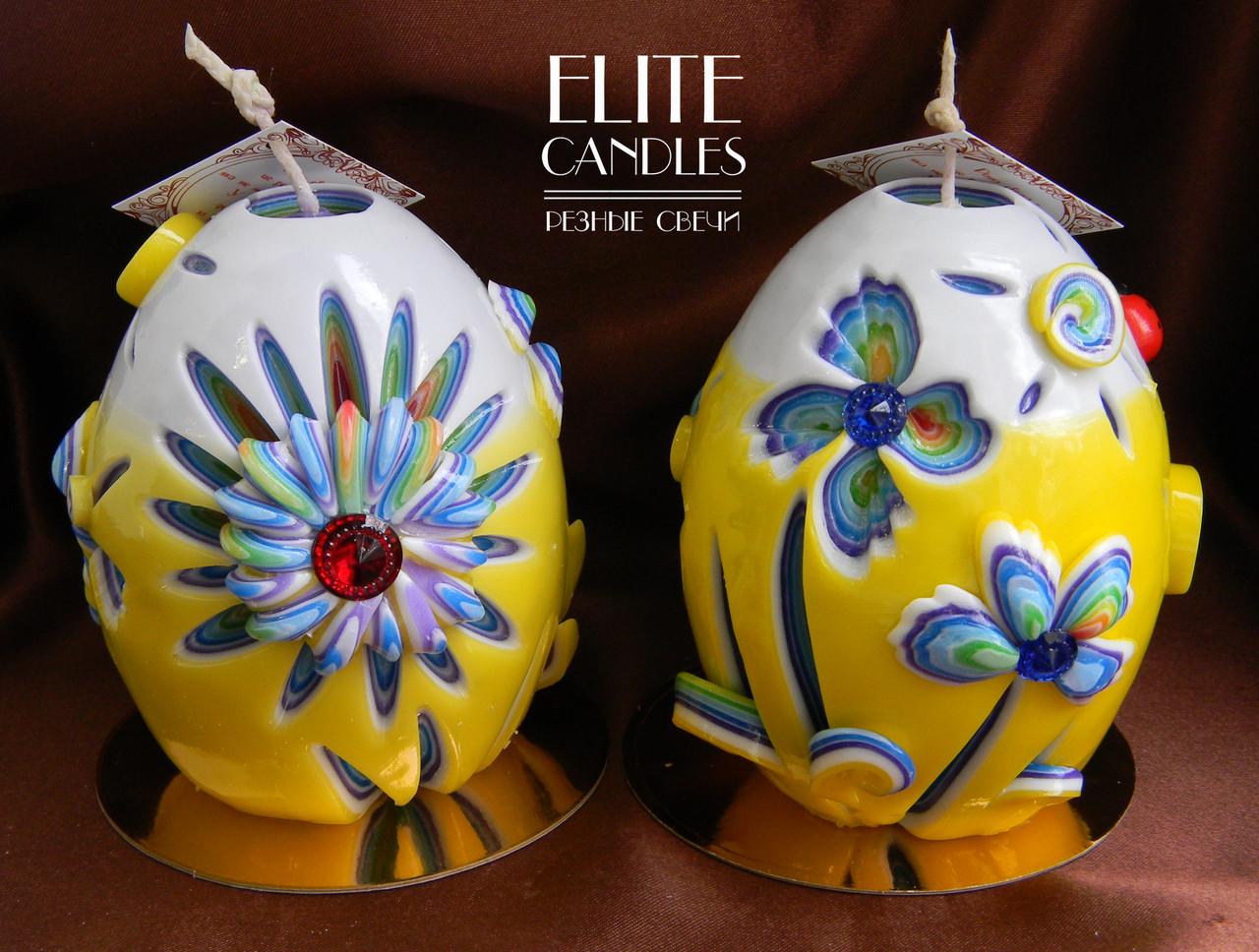 Великодні свічки ручної роботи, для церемонії запалювання свічки