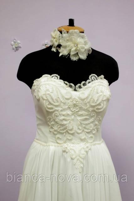 """Свадебное платье """"Узор"""""""