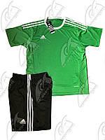Футбольная форма игровая Adidas (Адидас зеленая)