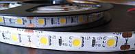 Светодиодная лента 5050 IP65 60 диодов на метр Warm White