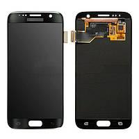 Дисплей (экран) для Samsung G935F Galaxy S7 EDGE, G935FD + с сенсором (тачскрином) Оригинал черный