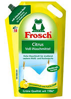 Гель для стирки белых вещей. Цитрус Frosch Citrus Waschmittel ( 18 стирок ) 1800 мл