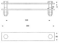 Планка соединительная КС-157