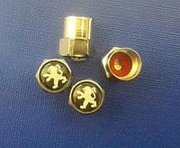Колпачки на ниппель с логотипом  Peugeot