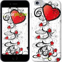 """Чехол на iPhone 6 Сердца """"1581c-45"""""""