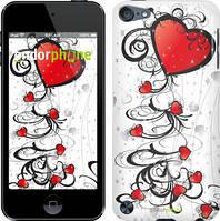 """Чехол на iPod Touch 5 Сердца """"1581c-35"""""""