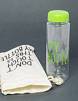 Пляшка для напоїв MY BOTTLE + чохол, A313