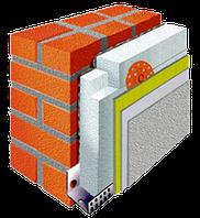 Утепление стен пенопластом 100 мм