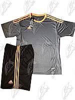 Футбольная форма игровая Adidas (Адидас серая)