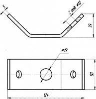 Планка соединительная - КС-163