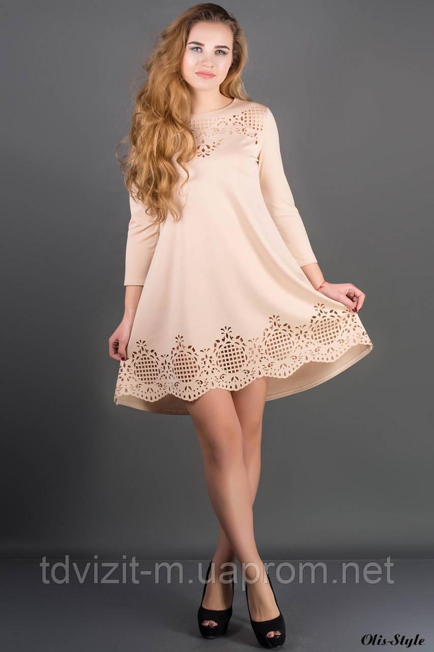 Платье  Olis Style Летисия (44-52) - Одежда оптом и в розницу от производителя. Интернет-магазин Визит М в Харькове