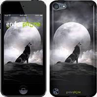 """Чехол на iPod Touch 5 Воющий волк """"934c-35"""""""
