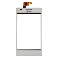 Сенсор (тачскрин) LG E615 Optimus L5 Dual White