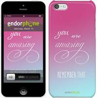 "Чехол на iPhone 5c Памятка для девушек ""3701c-23"""