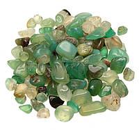Камни натуральные для декора Нефрит (5-10 мм) 100 грамм