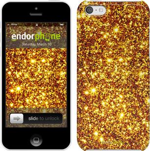 """Чехол на iPhone 5c Золото """"1687c-23"""""""