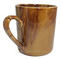 Кружка 400 мл керамическая ''Офисная''радуга коричневая 1 шт.