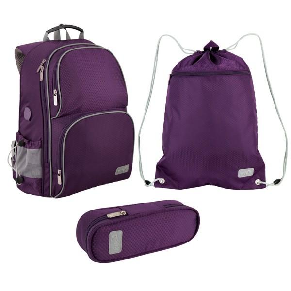5fcae4ec5c7f Школьный набор рюкзак, сумка для обуви, пенал Kite Smart 702-2 ...