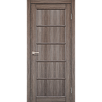 Дверь VICENZA  VС-01. Исполнение: глухое (дуб грей,дуб беленый,орех,дуб марсала). KORFAD
