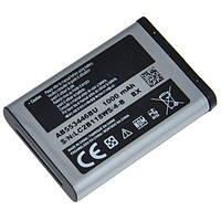 Аккумулятор Samsung C5212/ B100/ B200/ B2100/ C3212/ E2120 / E2152 / AB553446BU (1000 mAh) Оригинал