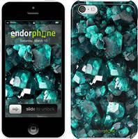 """Чехол на iPhone 5c Кристаллы 2 """"3674c-23"""""""