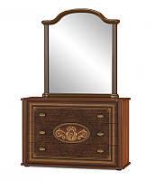 Практичная мебель для спальни, вместительный комод с зеркалом. Модель Алабама. Мебель-Сервис