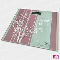 Весы напольные электронные мод. 5848-8(стекло, квадрат, дерево, до 180 кг.)