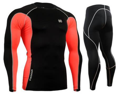 Комплект Рашгард Fixgear і компресійні штани FCT-BPL+P2L-BS, фото 2